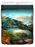 The Highkingdom Of Loch Lein Aka Hesperidean Avalon Duvet Cover