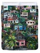 The Hill     Trinidad  Duvet Cover