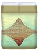 The Hill In The Middle Of Nowhere Duvet Cover