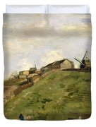 The Hill Of Montmartre With Stone Quarry Duvet Cover