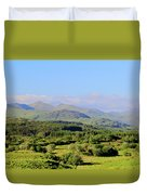 The Hills Of Southern Ireland Duvet Cover