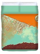 The Himalayas Duvet Cover