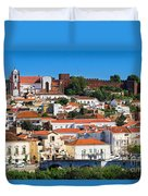 The Historic Town Of Silves In Portugal Duvet Cover