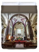 The Historical Church - Iglesia De La Salud Duvet Cover