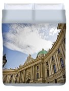 The Hofberg In Vienna Duvet Cover