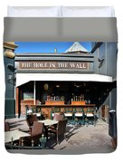 The Hole In The Wall Duvet Cover