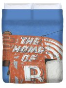 The Home Of R Duvet Cover