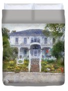 The Homes Of Mackinac Island Michigan 04 Pa Duvet Cover