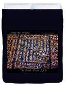 The Hood - Planet Art Duvet Cover