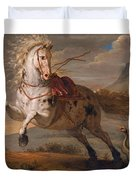 The Horse And The Snake Duvet Cover