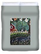 The Horse Farm Duvet Cover