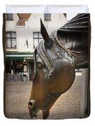 The Horses Head Duvet Cover