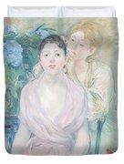 The Hortensia Duvet Cover by Berthe Morisot
