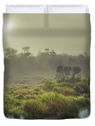 The Horton Plains. Sunrise Duvet Cover