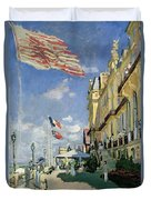 The Hotel Des Roches Noires At Trouville Duvet Cover