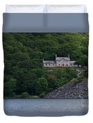 The House By The Llyn Peris Duvet Cover