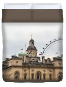 The Household Cavalry Museum London Abstract 2 Duvet Cover