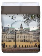 The Household Cavalry Museum London Duvet Cover