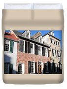 The Houses Of Charleston Duvet Cover