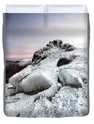 The Ice Queen Returns, North Tor Slieve Bearnagh Duvet Cover