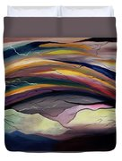 The Illusion Of Time Duvet Cover