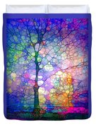 The Imagination Of Trees Duvet Cover