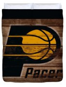 The Indiana Pacers 3b Duvet Cover
