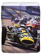 The Indianapolis 500 Duvet Cover