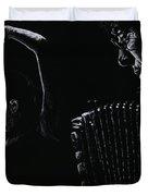 The Intensity Of Flamenco Duvet Cover