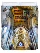 The Interior Of The Southwark Cathedral  Duvet Cover