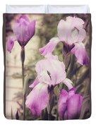 The Iris Undaunted Duvet Cover