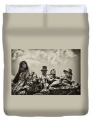 The Irish Emigration Duvet Cover