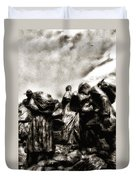 The Irish Exodus Duvet Cover
