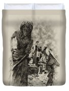 The Irish Famine Duvet Cover