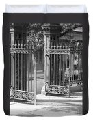The Iron Gates Duvet Cover