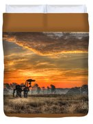 The Iron Horse 517 Sunrise Duvet Cover