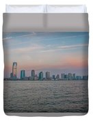 The Island Of Manhattan Duvet Cover
