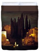 The Isle Of The Dead 1880 Duvet Cover