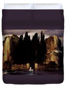 The Isle Of The Dead 1886 Duvet Cover