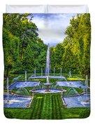 The Italian Water Gardens Duvet Cover