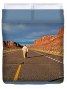 The Itinerant Photographer Duvet Cover