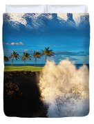 The Jack Nicklaus Signature Hualalai Golf Course Duvet Cover