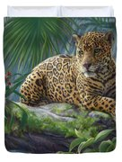 The Jaguar Duvet Cover