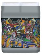 The Jazz Orchestra Duvet Cover