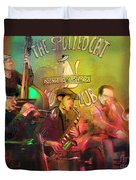 The Jazz Vipers In New Orleans 02 Duvet Cover