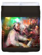 The Jazz Vipers In New Orleans 04 Duvet Cover