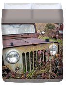 The Jeepster Duvet Cover