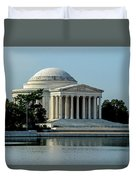 The Jefferson Memorial 2 Duvet Cover