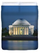 The Jefferson Memorial Duvet Cover by Peter Newark American Pictures