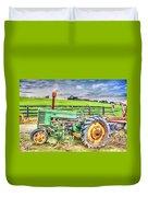 The John Deere Tractor Duvet Cover